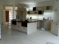 Modern Painted Kitchen