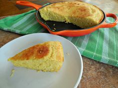 Make cornbread with Greek yogurt and low-fat buttermilk for down-home flavor and crumbly texture, with less fat than the cornbread your Grandma made.