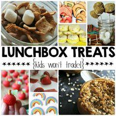Lunchbox Treats {Kids Won't Trade!}