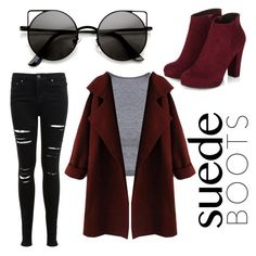 """""""suede"""" by ellie-handibode ❤ liked on Polyvore featuring мода и Miss Selfridge"""