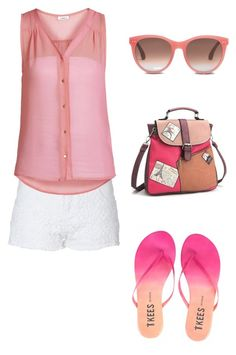 simple and sweet by sixfireab on Polyvore featuring polyvore mode style ONLY Jane Norman Tkees TOMS fashion clothing