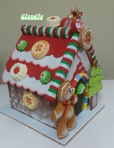 Blog sobre manualidades Candy Land Christmas, Christmas Gingerbread House, Etsy Christmas, Best Christmas Gifts, Christmas Home, Christmas And New Year, Christmas Holidays, Christmas Crafts, Christmas Decorations