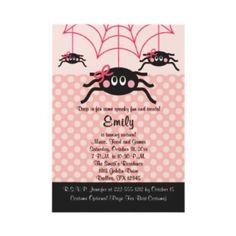 Pink Spider Hallowee