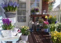 terraza con flores - Buscar con Google