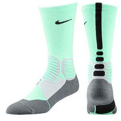 Mint green nike elites
