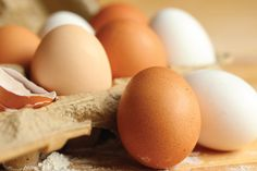 The incredible, edible egg is one of the most versatile culinary ingredients. Eggs supply all of the essential amino acids for humans, which have been termed as a 'complete protein' ingredient.  The egg yolk contains Vitamins A, D and E, which also hold all of the fat content, and about half of the protein. Free-range hens have less overall cholesterol in their eggs, and a higher quantity of omega-3 fatty acids.  Pair with feta or parmesan cheeses, spinach, bacon, kale, basil, or asparagus…