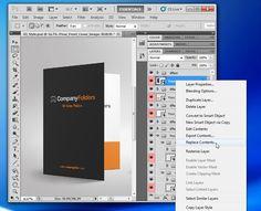Free PSD Template: Presentation Folder Mockup