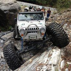 """Jeep be like """"play? Cj Jeep, Jeep Truck, 4x4 Trucks, Lifted Trucks, Wrangler Jeep, Jeep Rubicon, Monster Trucks, Badass Jeep, 4x4 Off Road"""