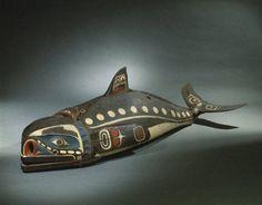 Baleen Whale Mask  Kwakwaka'wakw 19th century