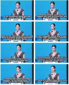 Anne Hathaway on being a decent human being