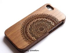 100% real wood, it is a practical and beautiful protector you over the phone.The cover is strong and durable, will protect your phone to the largest