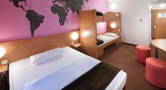Familienzimmer für 3 Personen im B&B #Hotel #Hannover-Garbsen