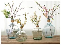 ideas flowers vase ideas branches for 2019 Diy Home Decor, Room Decor, Deco Floral, Shabby Flowers, Affordable Home Decor, Vases Decor, Flower Vases, Home And Living, Floral Arrangements
