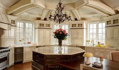 awesome ceiling in kitchen | Tracizeller.com