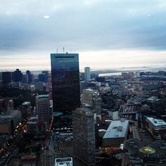 View from Top of the Hub www.instagram.com/visitboston www.bostonusa.com #BostonUSA #Boston