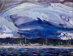 Tom Thomson Was A Weatherman Country Artists, Canadian Artists, Tom Thomson, Group Of Seven, Landscape Paintings, Landscapes, Yahoo Images, Image Search, Toms
