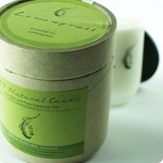 Aromatherapy Soy Wax in Clouded Glass