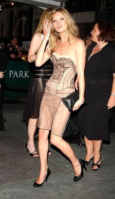 Kate Moss at the CFDA awards on the 5th of June, 2005