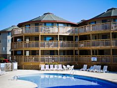 RELAX // Kick back and enjoy your time at the Outer Banks Beach Clubs on the Outer Banks of NC. #spmvacations #outerbanks #obx #obbc
