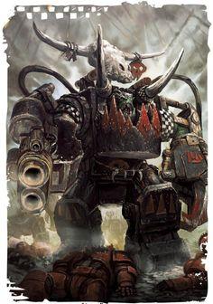 Warhammer 40k ork nob
