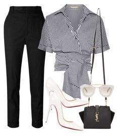 """""""Untitled #2902"""" by camilae97 ❤ liked on Polyvore featuring Étoile Isabel Marant, Michael Kors, Christian Louboutin, Yves Saint Laurent and Prada"""