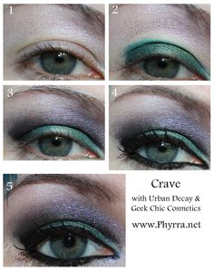 Dr. Who Makeup Tutorial with Geek Chic Cosmetics and Urban Decay    #crueltyfree #geekchic #makeup #beauty #urbandecay #crave