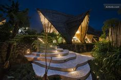 Living area  eco-structure at Sandat Glamping