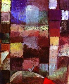 1914 Hamamet by Paul Klee (1879~1940)