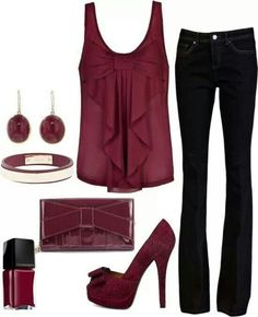 Burgundy is my new favorite color..