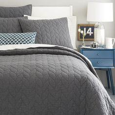 Scalloped Crewel Pillow Cover – Blue Lagoon | West Elm