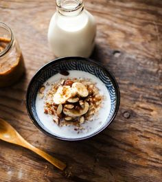 This porridge is filling, but not heavy, super tasty and nourishing, and as an added bonus, it's dairy and gluten free!