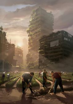 Survival after the apocalypse Post Apocalypse, Apocalypse World, Apocalypse Survival, Cyberpunk, Fantasy World, Fantasy Art, Apocalypse Landscape, Post Apocalyptic City, Breathing Fire