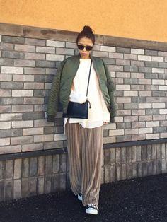 カジュアルコーデ。 楽チンで動きやすい バッグが合わせやすくて使える♡ instagram→yy