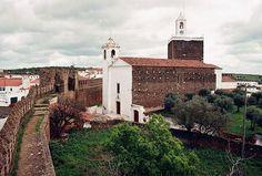 Castelo e igreja matriz do Alandroal