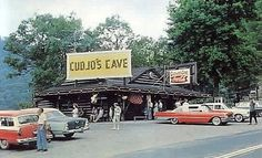 Cujo Caverns....no longer open to the public, but when I was a little girl I used to beg to go there every time we'd visit Cumberland Gap.  My father usually indulged me.