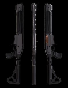Sci Fi Weapons, Concept Weapons, Fantasy Weapons, Tactical Shotgun, Tactical Gear, Firearms, Shotguns, Long Rifle, Lethal Weapon