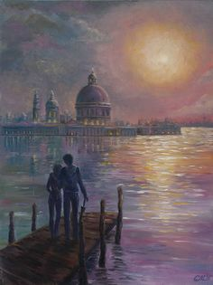 Wedding gifts for couple Giclee Print of Venice painting Italy wall art Italy poster print remembrance gifts City prints for bedroom decor by svetlanamatevosjan on Etsy