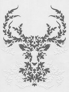 gray deer | Flickr - Photo Sharing!