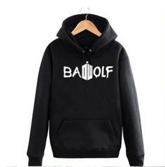 Bad Wolf hoodie XXXL Doctor Who hooded sweatshirts for men