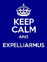 KEEP CALM AND EXPELLIARMUS