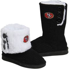 San Francisco 49ers Boot Slippers