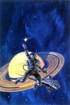 Lucky Star par Darrel K. Sweet -Lucky Starr series, six juvenile science fiction…
