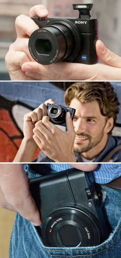 The Sony RX100 - The camera that's (almost) like having an SLR in your pocket.
