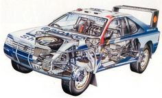 Peugeot 406 T16 rally raid car