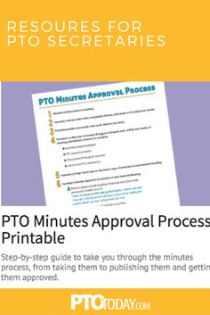 PTO Secretary Job Description | Fundraising | Pinterest | Job ...