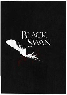 Black Swan (2010) ~ Minimal Movie Poster by Ben Mcleod #amusementphile