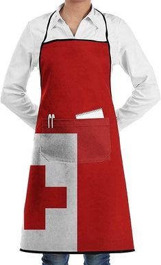 Schürze Kochschürze Tonga Large Flag Aprons Bib Adjustable Polyester Unisex Long Full Kitchen Chef Cooking Gardening Apron for Indoor Restaurant BBQ Serving Grill Cleaning Crafting Baking Tonga, Chef, Bbq, Gardening, Restaurant, Unisex, Fashion, Crickets, Plants