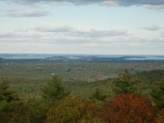 #76 Blue Hills Reservation: Ten miles south of downtown Boston. Three day hikes of varying length and difficulty explore key features of the Blue Hills chain. Special attractions: vistas, observation towers, historic weather station, diverse forest, rock features, wildlife sightings, fall foliage.