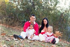 Candice Michelle, her husband Dr. Ken Gee Ehrlich , & their daughters Ryumi Grace & AkiAnne Rose