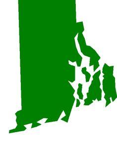 Rhode Island Silhouette